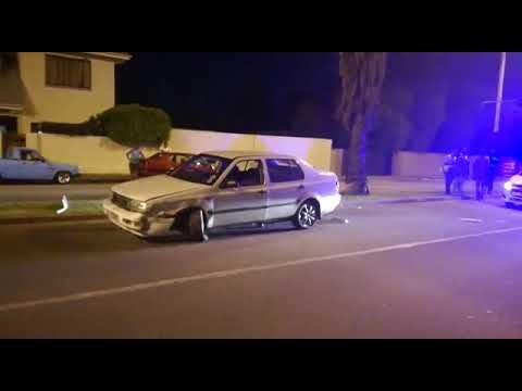 Ongeluk in Voortrekkerweg, Oudtshoorn