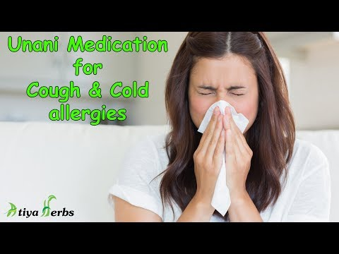 Cure Cough & Cold allergies with Unani Medication to avoid its side effects on your body.