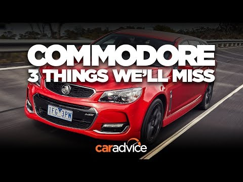 The Holden Commodore and three things we'll miss: A spacious, muscly wagon - Dauer: 3 Minuten, 18 Sekunden