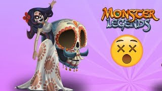 ✅ Demise Legend $$ Cô Gái Đến Từ Undead LV 1 - 100 | Monster Legends Game Mobiles Android, Ios