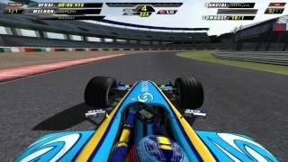[F1C] Mild Seven Renault F1 Team R24 vs Red Bull Sauber-Petronas C23 @Suzuka (mod RH 2004-2005) [HD]