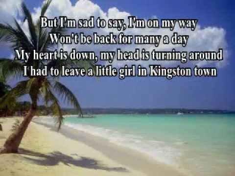 Jamaica Farewell (with Lyrics) - Lord Burgess Arr.P.M.Adamson