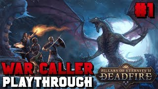 [Live Stream] War Caller First Playthrough! Lets Sing Some Songs | Pillars of Eternity II: Deadfire