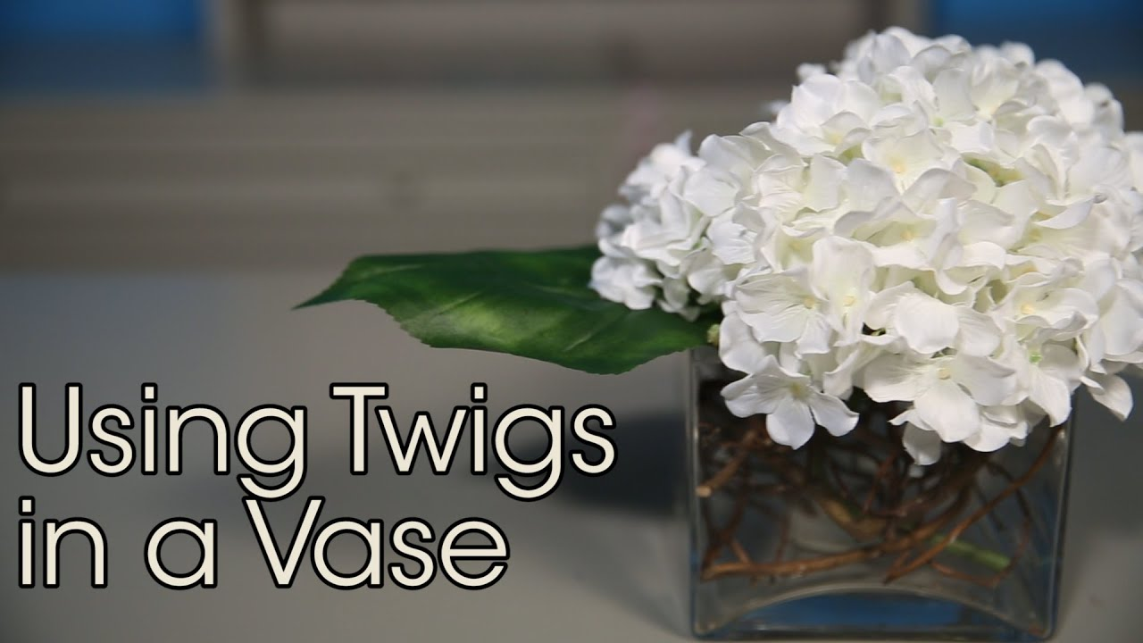 Using twigs in a vase basic floral techniques youtube using twigs in a vase basic floral techniques reviewsmspy