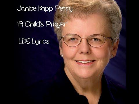 'A Childs Prayer' Lyrics | Janice Kapp Perry | LDS Childrens Song