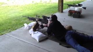 David Crane Fires GDATP .338 NM LWMMG (.338 Norma Magnum Lightweigt Medium Machine Gun)