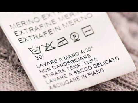Как расшифровать символы на ярлыке одежды