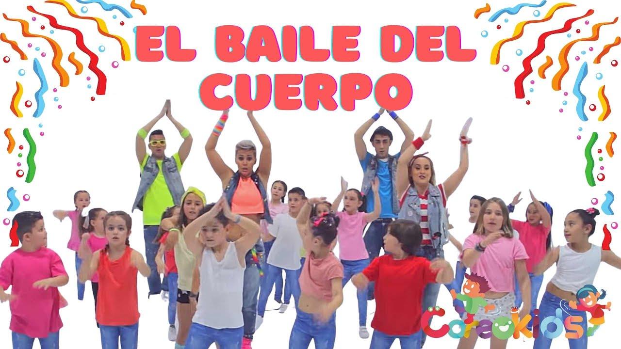 Coreokids El Baile Del Cuerpo Diverplay Yo Tengo Un Cuerpo Y Lo Voy A Mover Youtube