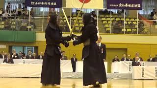 17th All Japan 8-dan Kendo Championships - QF1: Takeuchi Tsukasa vs. Yamazaki Masaru