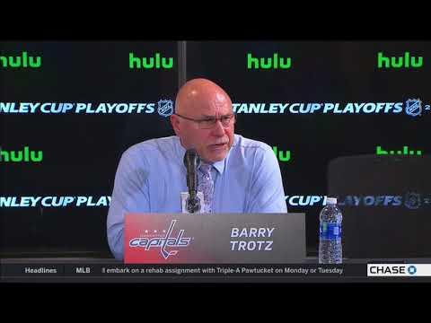 Washington Capitals coach Barry Trotz on winning Game 1 vs. Lightning 05/11/2018