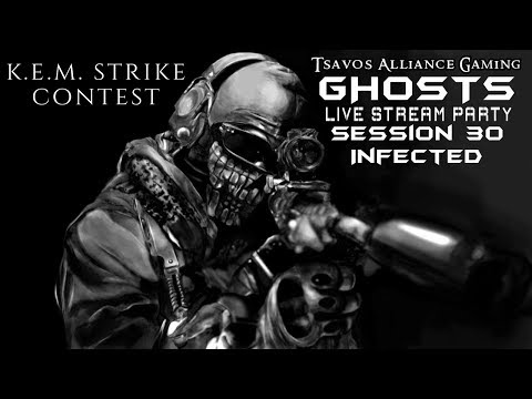 ☢GHOSTS: Infected - Session 30 (Xbox 360 Server) K.E.M. STRIKE CONTEST - DLC MAPS