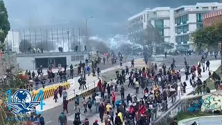 Decretan toque de queda en Ecuador ante protestas