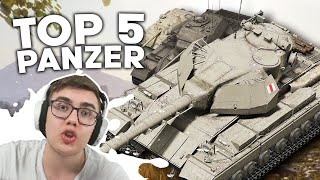 TOP 5 KOSTENLOSE PANZER in WORLD OF TANKS! | ALGO24