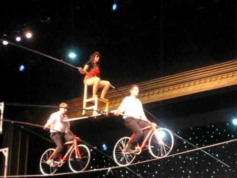 The Fabulous Wallenda Family Circus - High Wire Act