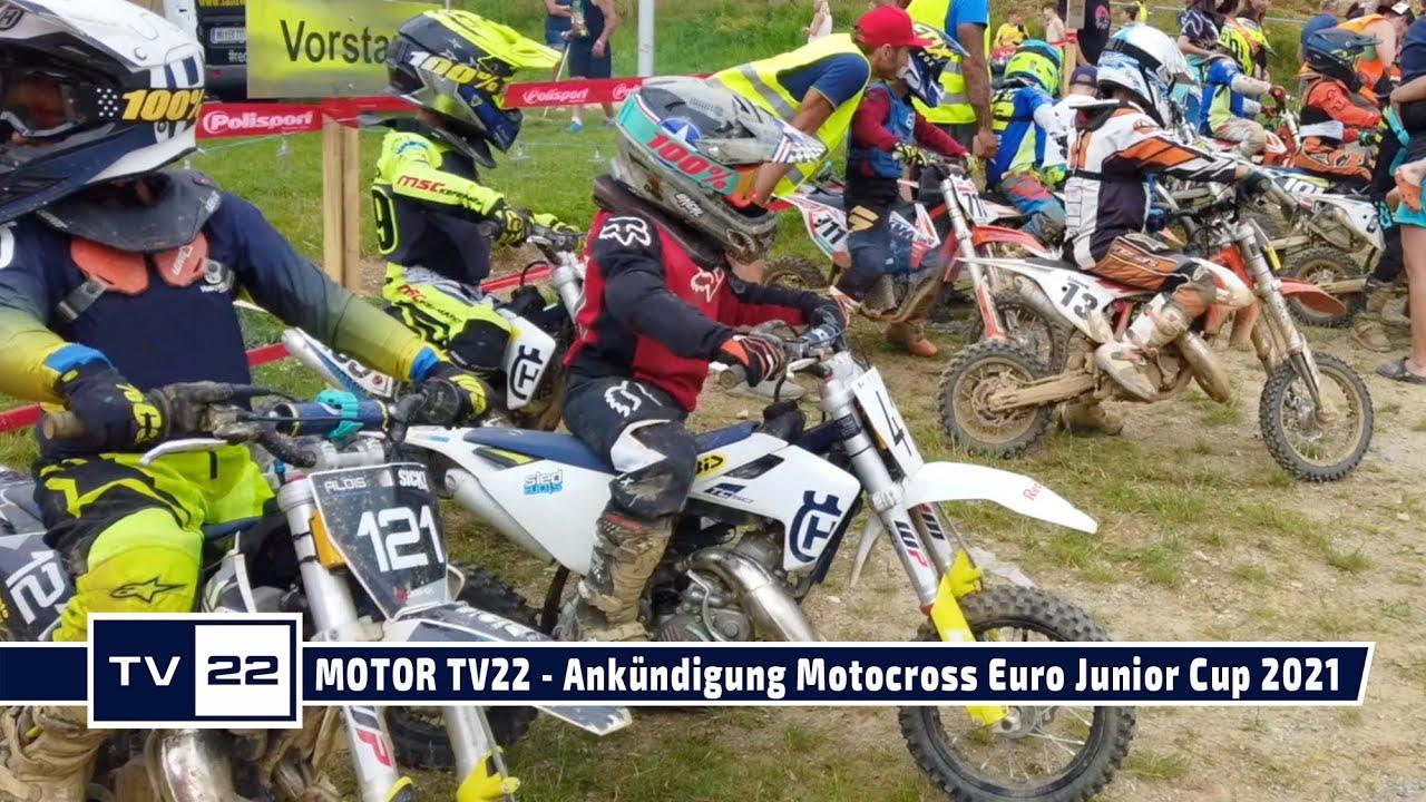 MOTOR TV22: Ankündigung MySportMyStory Liqui Moly Euro JuniorCup 2021