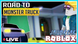 Roblox - Jailbreak   Getting Monster Truck!