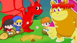 SUPER Friend Morphle - The Monster Camping Trip   NEW!   Kid...