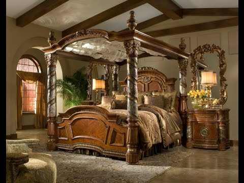 Four Poster Bed Frame & Four Poster Bed Frame - YouTube