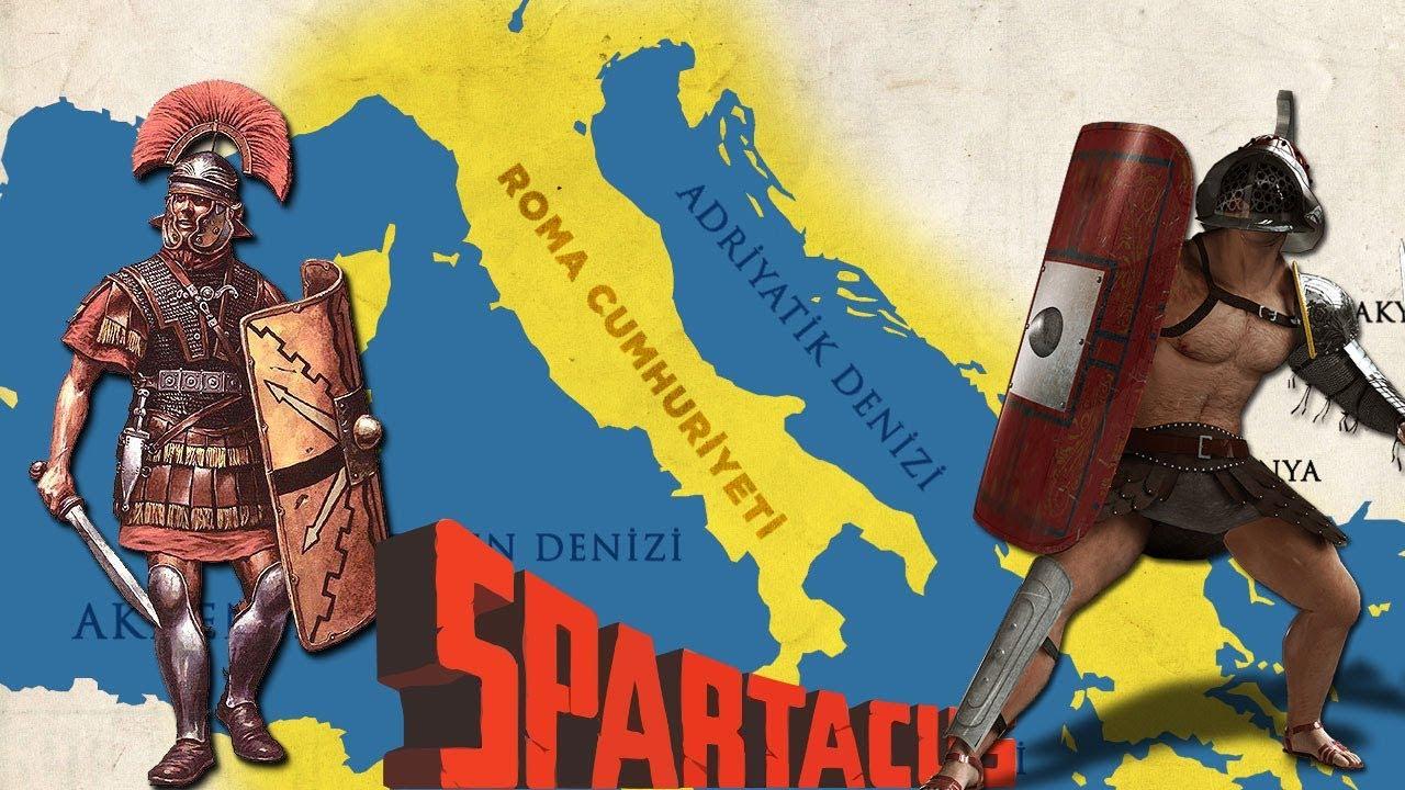 SPARTACUS ve Köle Savaşı || 2D Savaş