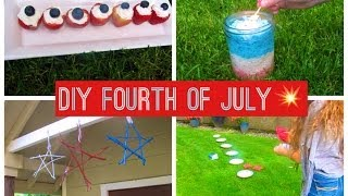 DIY Fourth of July Treats, Decorations, and Activities! Thumbnail