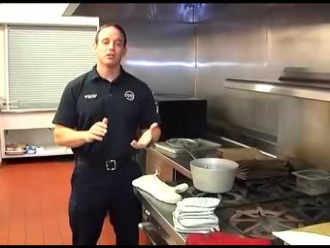 Commercial kitchen fire safety training youtube for 6 kitchen accidents