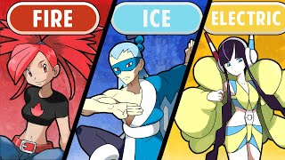 Strongest Gym Leader of Every Type