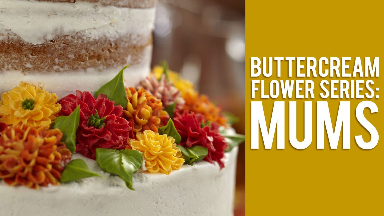 Cake Decorating Mum Tips