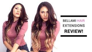 Guy Tang Balayage 1c/18 Bellami Hair Extension Review/Demo ♥   itsforeverCLO