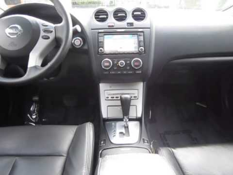 2008 Nissan Altima Dark Slate Metallic Stock 14532a Interior