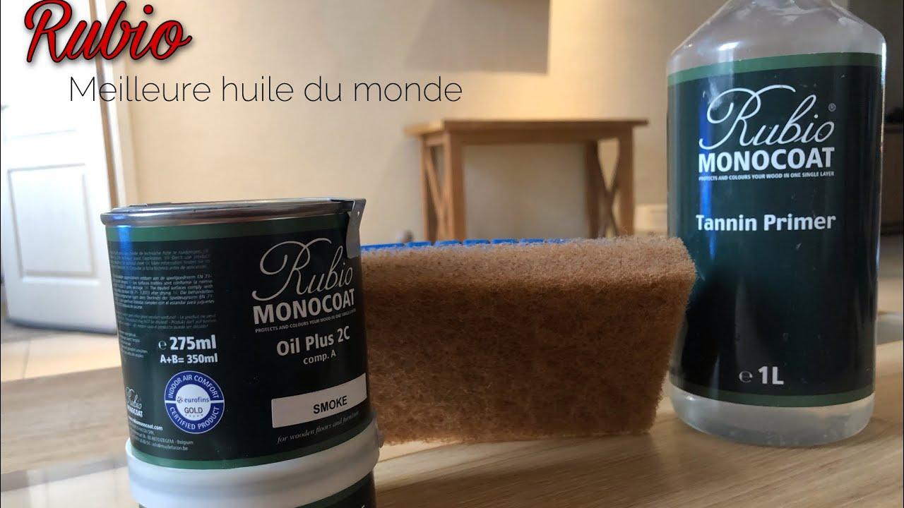 Meuble Avec Resine Epoxy rubio monocoat meilleure huile du monde! comment bien l'appliquer? blanchir  ses meubles.