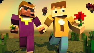 Repeat youtube video Minecraft -  Jahova and Sidearms:  Best Friends Forever! - CrewCraft #82