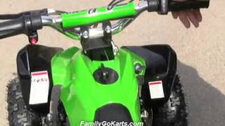 Green Mars Kids Electric ATV