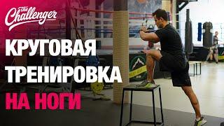 Круговая тренировка на ноги: 5 упражнений