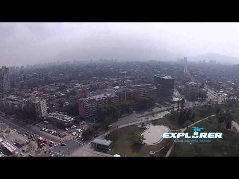 Explorer- Visualizaciones Aereas Modelado- DJI Phantom 2 Vision + Santiago