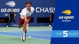 Roger Federer's Greatest US Open Shots