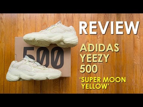 Worn out Blushes? || Adidas Yeezy 500 'Super Moon Yellow' Review and On Feet