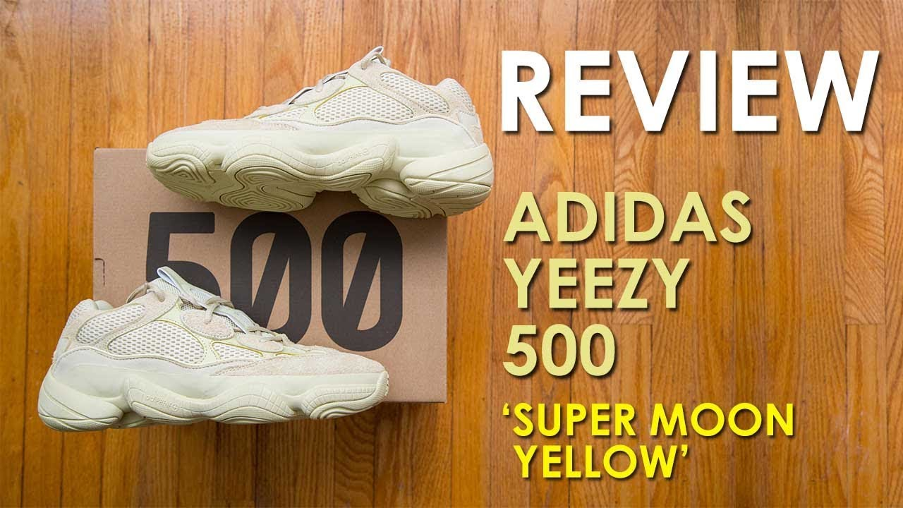 6c63279cc30 Adidas Yeezy 500  Super Moon Yellow  Review and On Feet
