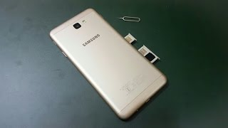 How To Insert Sim Card & Memory Card in samsung j7 Prime(Tutorial)
