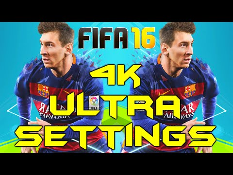 FIFA 16 PC 4K ULTRA GRAPHICS (Titan X Max Settings Gameplay)