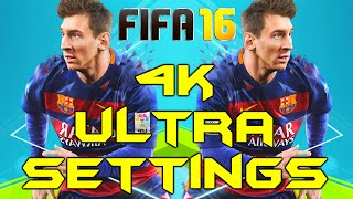 FIFA 16 PC 4K ULTRA GRAPHICS (Titan X Max Settings Gameplay)