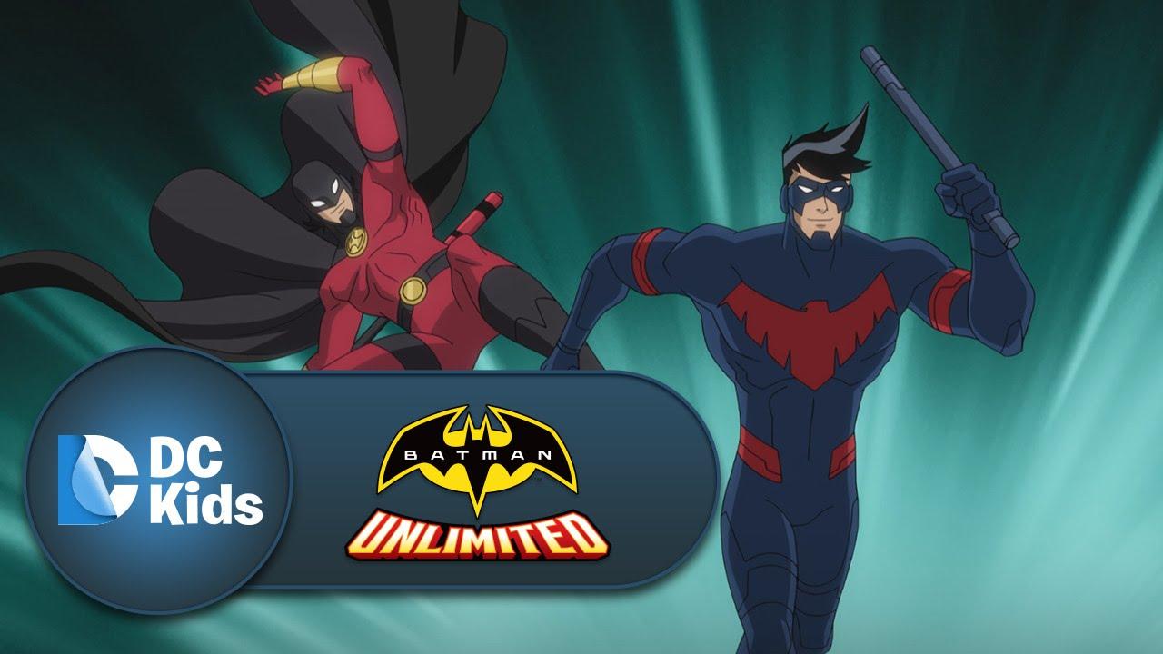 Nightwing and Red Robin vs. Silverback | Batman Unlimited ... Nightwing And Red Robin