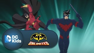 Nightwing and Red Robin vs. Silverback   Batman Unlimited   Episode 8