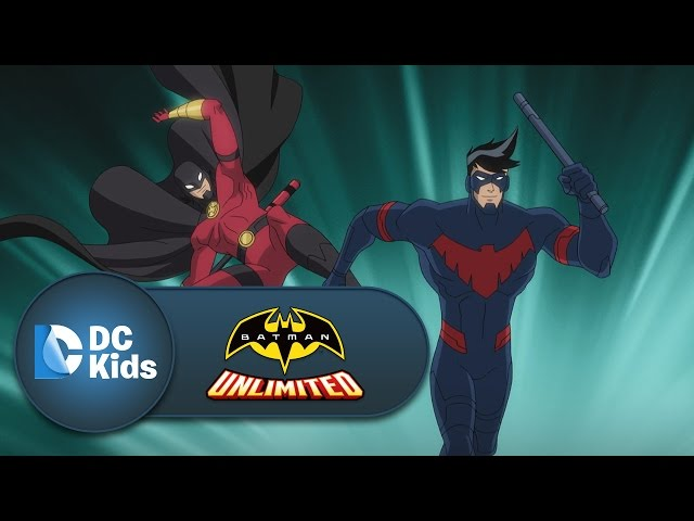 Nightwing and Red Robin vs. Silverback | Batman Unlimited | DC Kids