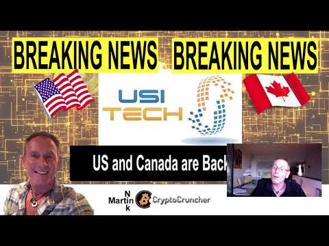 USI Tech Awesome Breaking News Update - USA and Canada are Back In!!!
