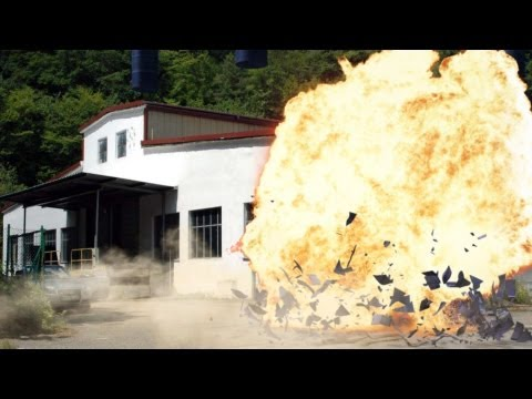 large explosion on Industrie terrain- FX Effect