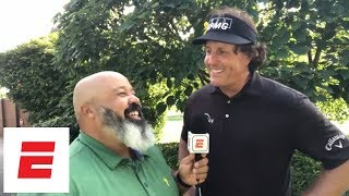 Phil Mickelson vs. Tiger Woods $9 million match announced; Phil reacts | ESPN