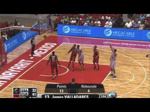 James Valladares Highlights -- Centrobasket 2014
