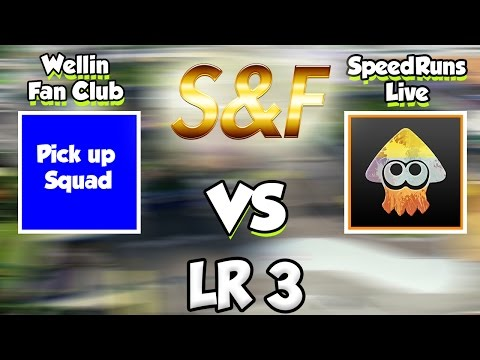 Splatoon - S&F Banned Weapon Tournament - LR3 (Wellin Fan Club vs SpeedRunsLive)