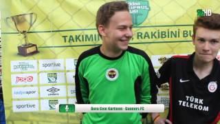 Gunners FC Boracem Kurtmen Röportaj / İZMİR / iddaa Rakipbul Ligi 2015 Açılış Sezonu
