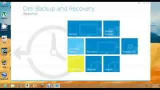 how to create window 8 recovery disc for dell